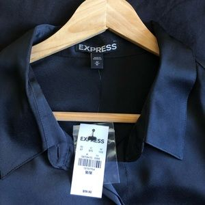 Black Express blouse, brand new